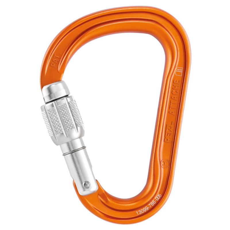 Petzl Attache 3D HMS Screw-Lock