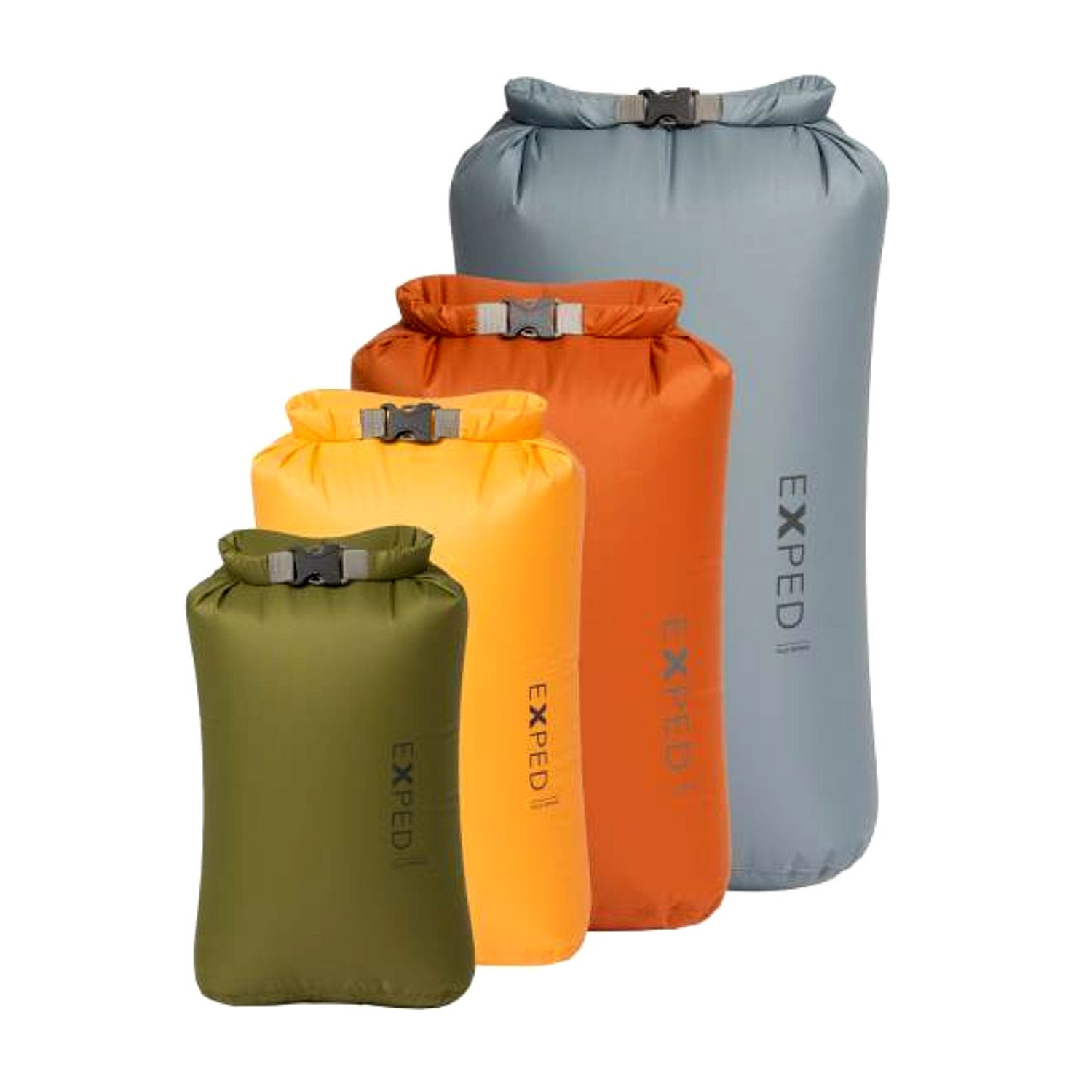 Exped Fold Drybag STD 4-Pack