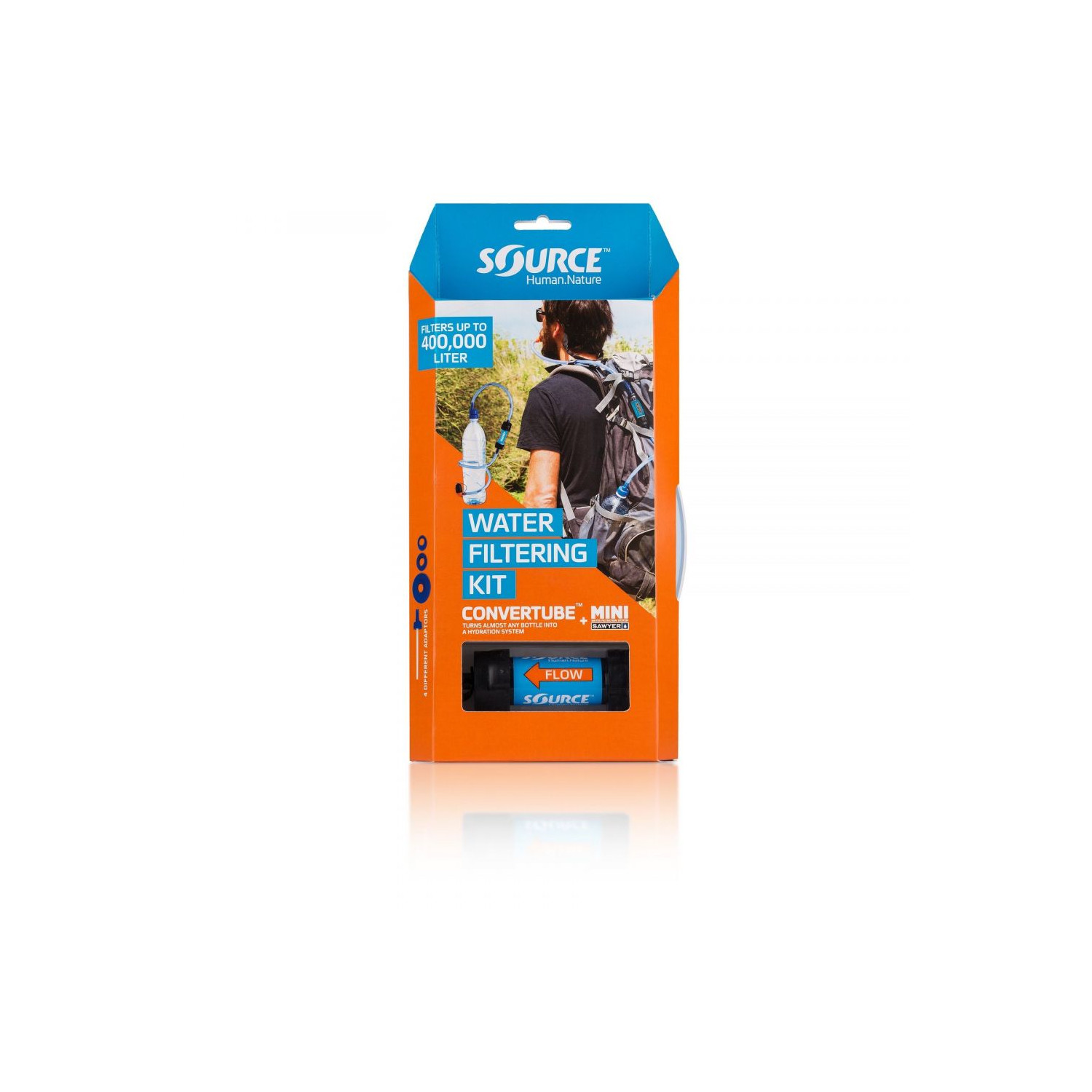 Source Convertube + Sawyer Filter Kit