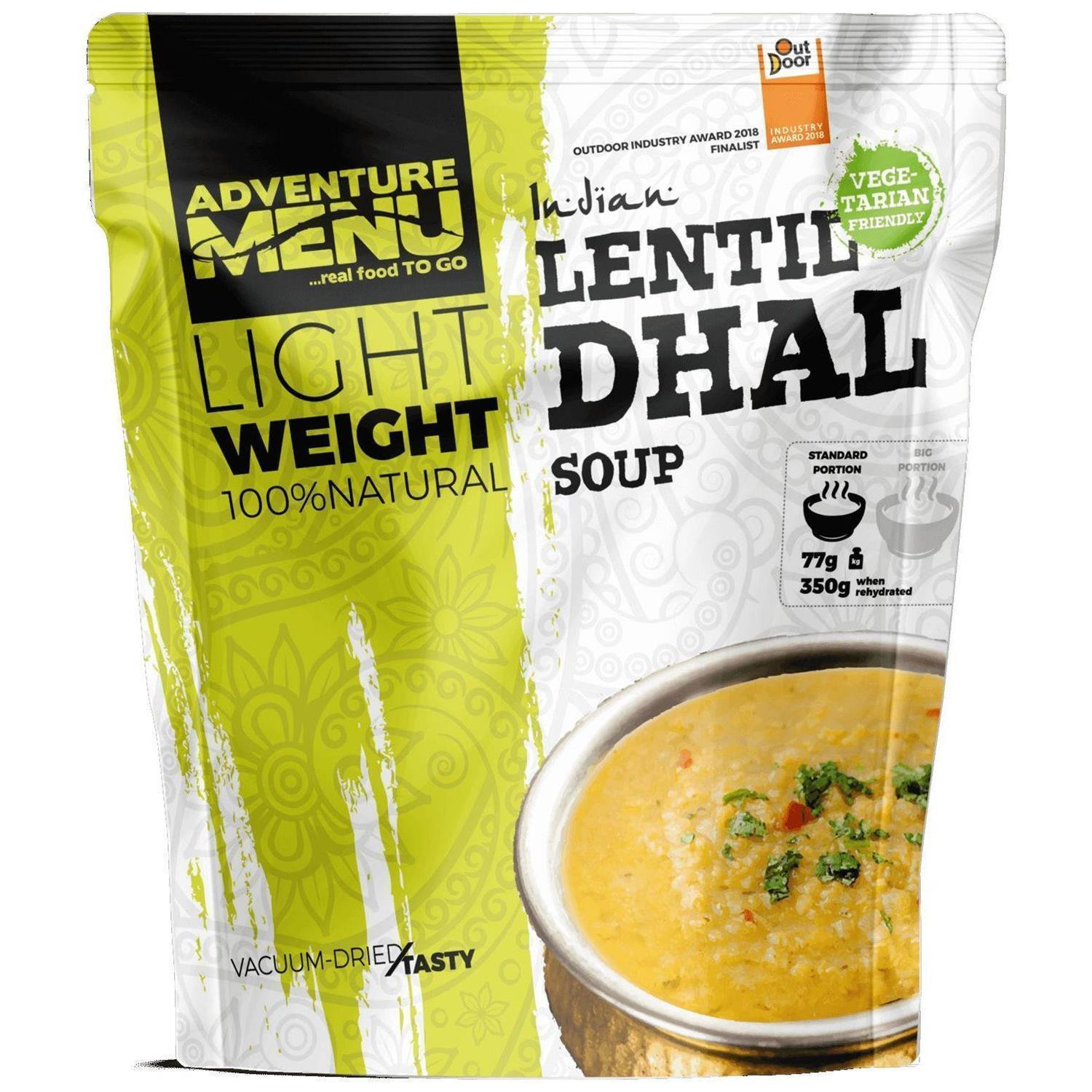 Adventure Menu LIGHTWEIGHT BIG - Linsen-Dal (VEGAN)